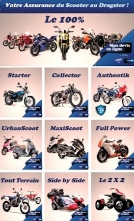 Mutuelle des motards: 10 contrats pour 10 pratiques de la moto
