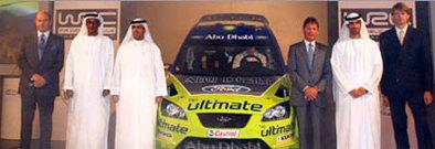 WRC: Ford reçoit l'appui d'Abou Dhabi