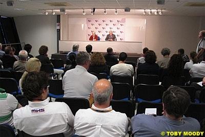 Moto GP: Le vendredi après midi presque sauvé pour 2010