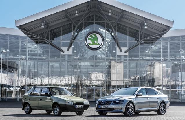 """En 1991, VW prenait le contrôle d'un Skoda dont la triste Favorit était le """"top modèle""""... Vingt-cinq ans plus tard, le constructeur est un de ceux qui progressent le plus en Europe."""