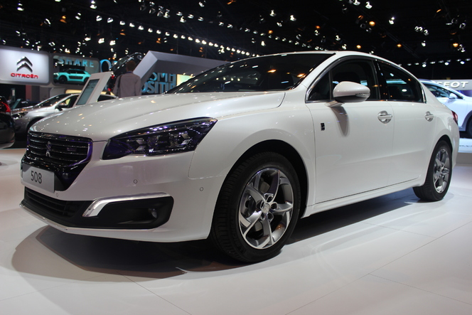 Peugeot 508 restylée : plus 607 que 407 - Vidéo en direct du salon de Paris 2014