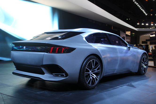 Peugeot Exalt Concept : la future 408 GT - En direct du Mondial de Paris 2014