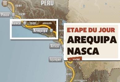 Dakar 2012 : Etape 12, du sable rien que du sable