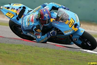 Moto GP: Martinez négocie sa GSV-R