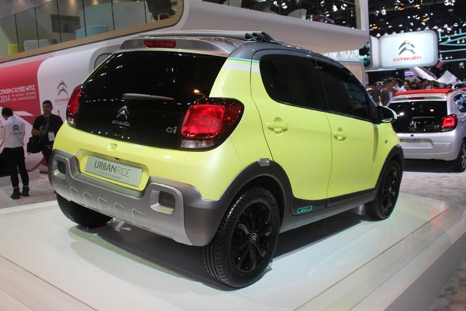 Citroën C1 Urban Ride concept : baroudeuse - Vidéo en direct du salon de Paris 2014