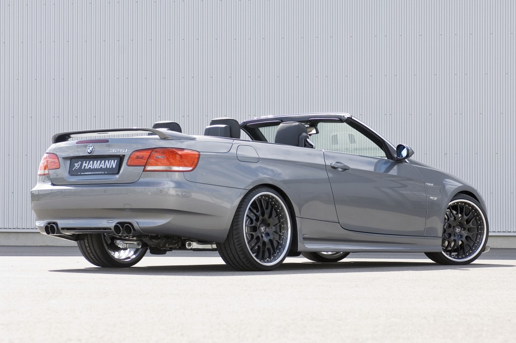 bmw s rie 3 cabriolet e92 by hamann. Black Bedroom Furniture Sets. Home Design Ideas