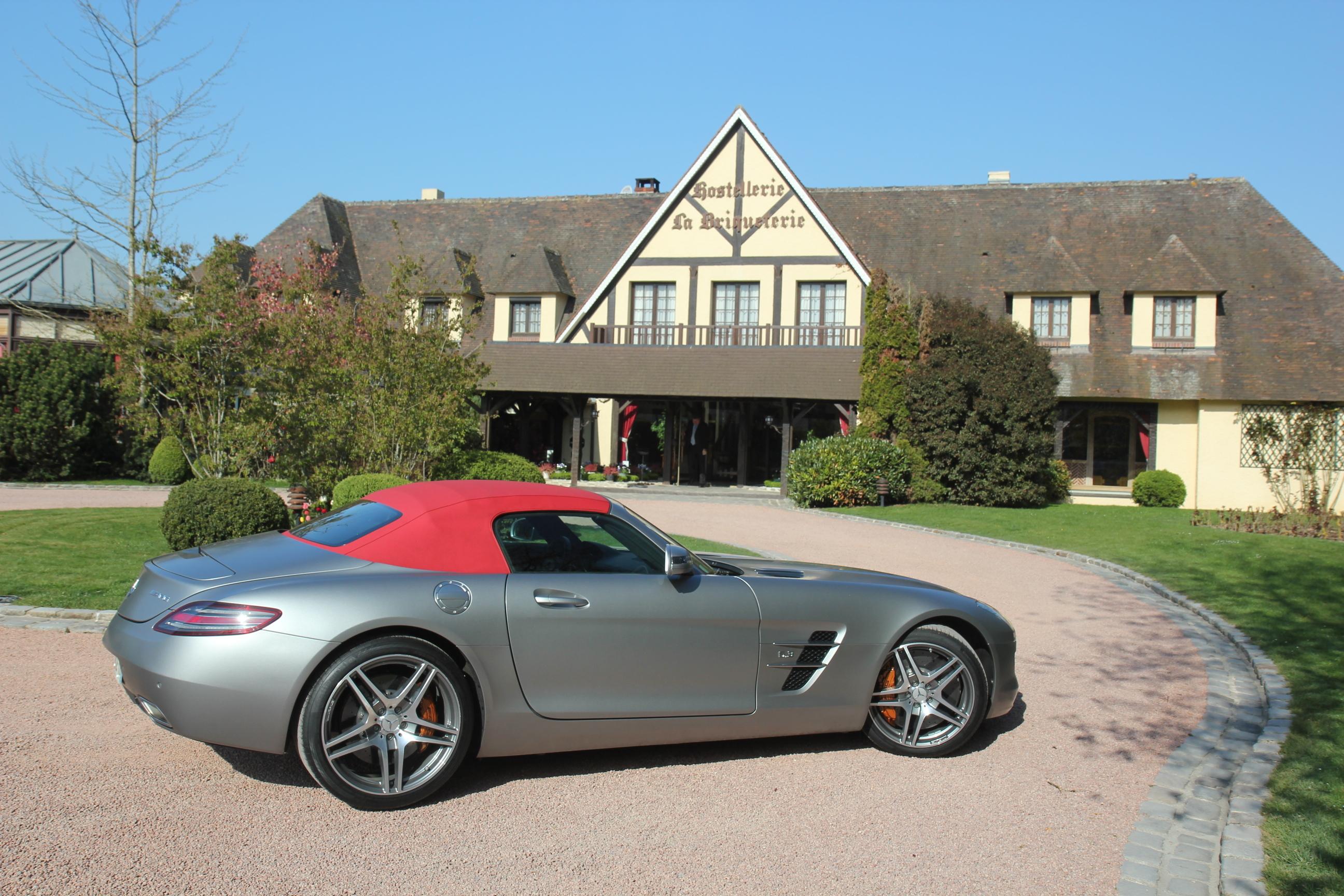 Essai Vid 233 O Mercedes Sls Roadster Plus D 233 Sirable C