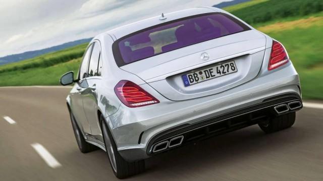 La Mercedes S63 AMG se dévoile un peu plus