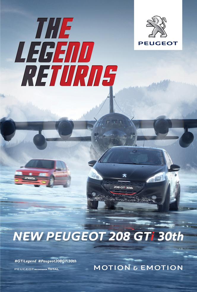 Peugeot 208 GTi 30th : la légende est de retour, le film