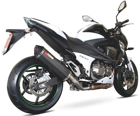Scorpion: un Serket pour la Kawasaki Z800