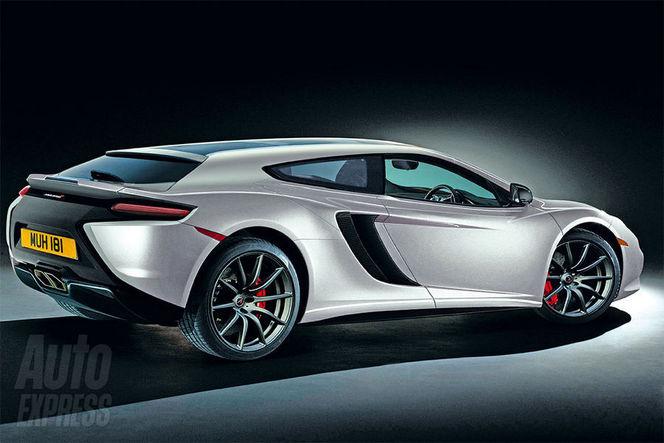 McLaren prépare un shooting brake!
