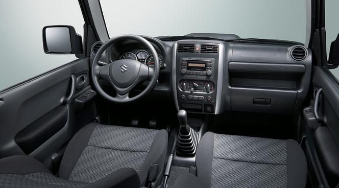 Voici le Suzuki Jimny restylé
