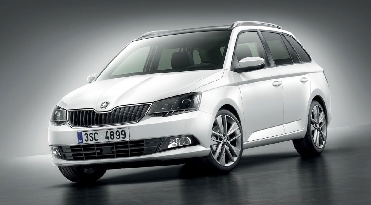 mondial de paris 2014 la nouvelle skoda fabia combi en. Black Bedroom Furniture Sets. Home Design Ideas