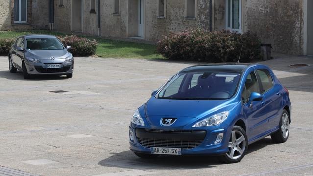 Peugeot 308 Vs Renault Mégane 3: le match occasion