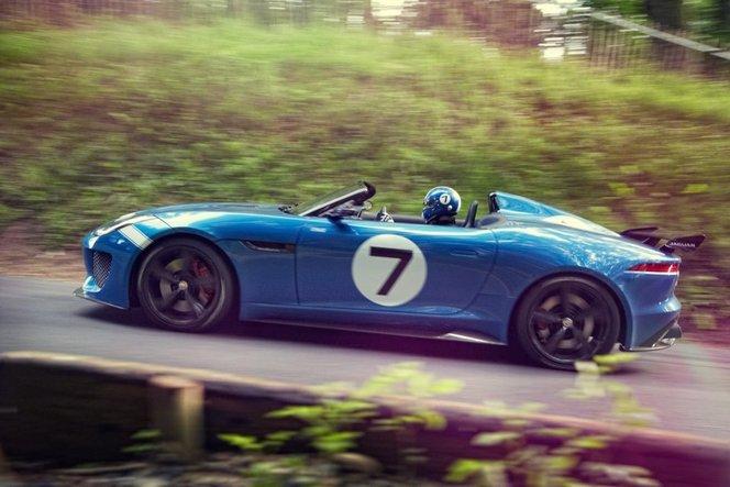 Goodwood 20213 : Jaguar présente le Project 7