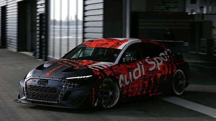 Audi dévoile la nouvelle RS3 LMS - Caradisiac.com