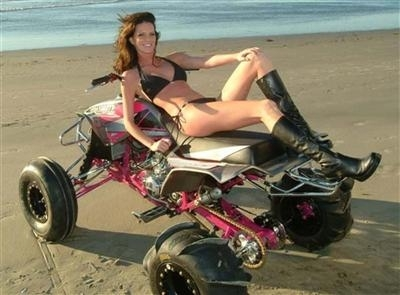 Moto & Sexy : du rab' de Quad