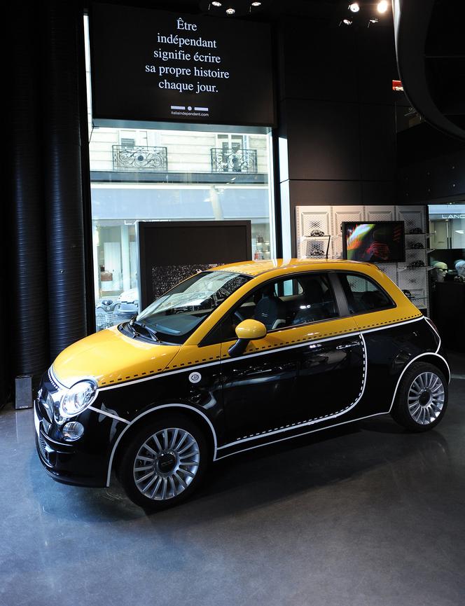 Fiat présente les 500 Couture, Comics et Camouflage