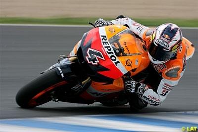 Moto GP - Honda: Stoner sinquiète pour eux et Pedrosa inquiète tout court