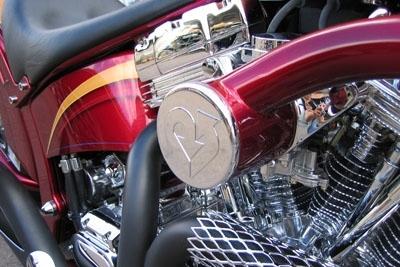 Photo du jour : une moto qui a du coeur