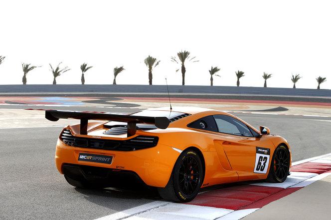 McLaren MP4-12C GT Sprint: pour la piste