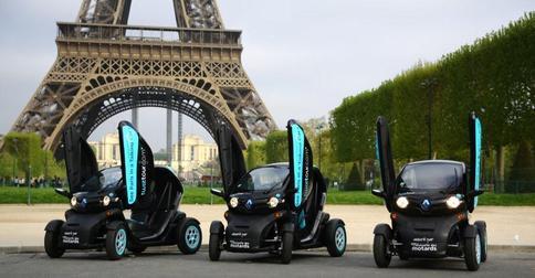 Twiztour: visitez Paris en Renault Twizy