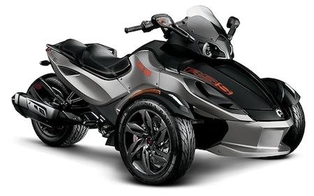 Can-Am retravaille sa gamme Spyder pour 2013