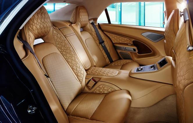 Bienvenue à bord de la nouvelle Aston Martin Lagonda!