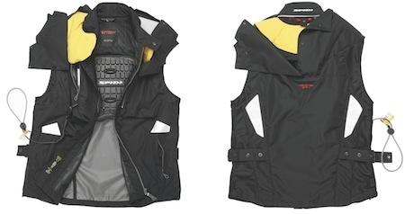 Nouveauté gonflée: Spidi airbag Neck DPS-1