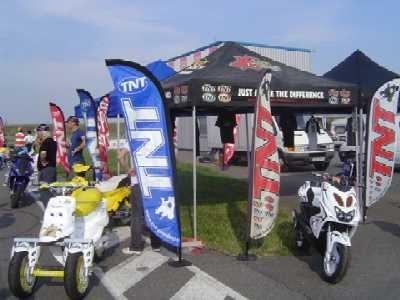 Photo du jour : en 2005 Toulouse connaissit déjà son scooter trois roues