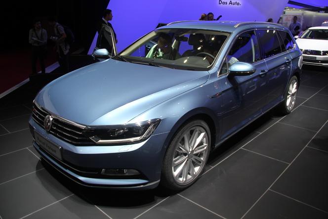 Volkswagen Passat 8 SW : balle de break - Vidéo en direct du Salon de Paris 2014