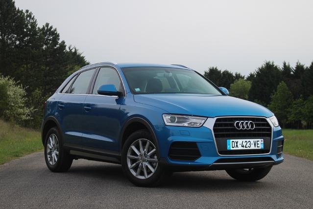 Essai - Audi Q3 TDi 120 : social démocrate