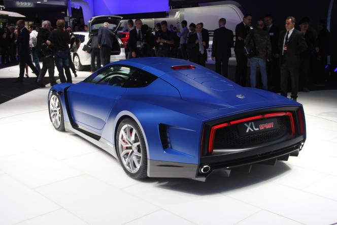 Volkswagen XL Sport Concept : le mutant - En direct du Salon de Paris 2014