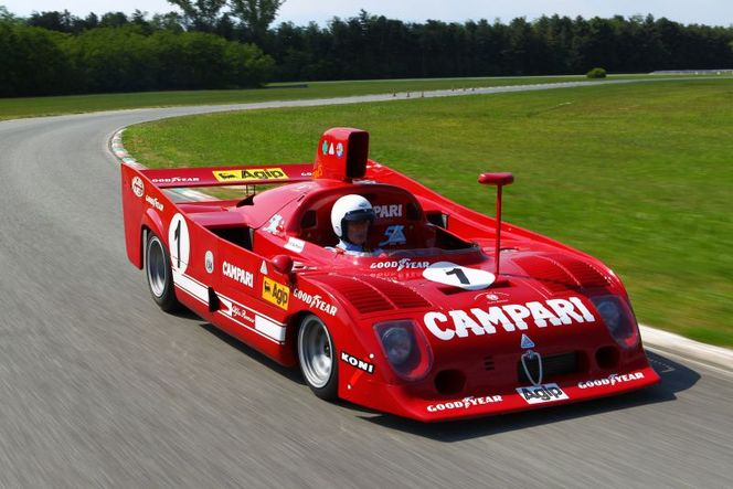 Alfa Romeo célèbre les 50 ans d'Autodelta