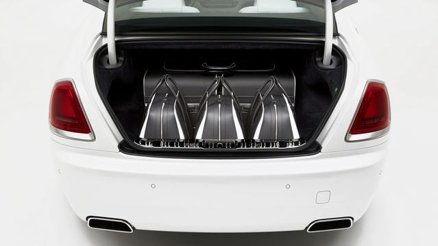 Rolls-Royce : des bagages assortis à la Wraith pour 28000€