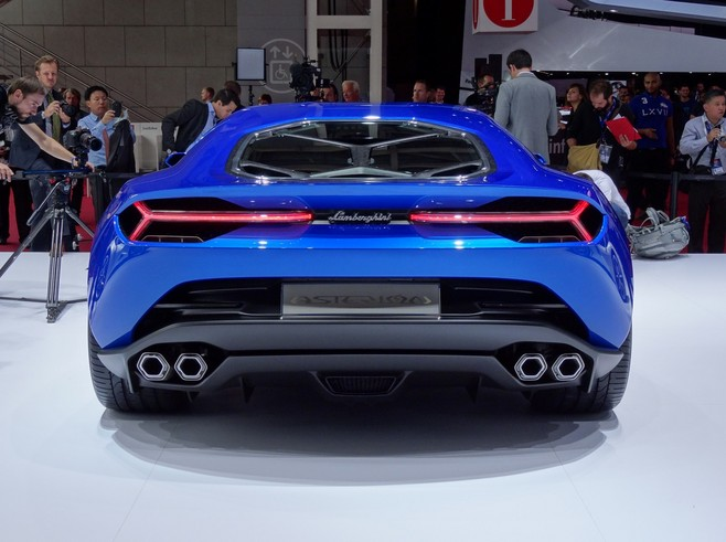 Lamborghini Asterion : l'hybride débridée ! - En direct du Salon de Paris 2014