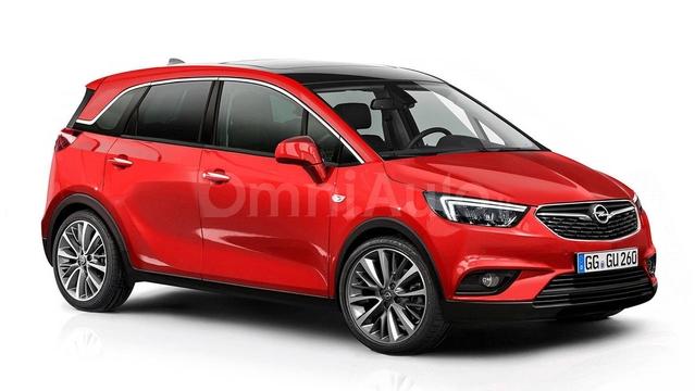 Futur monospace Opel Meriva : comme ça ?