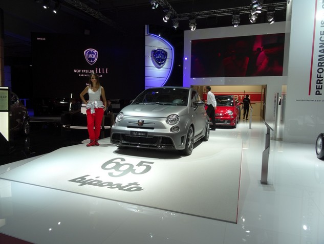 Abarth: Coquine... Ça farte ? - En direct du Salon de Paris 2014