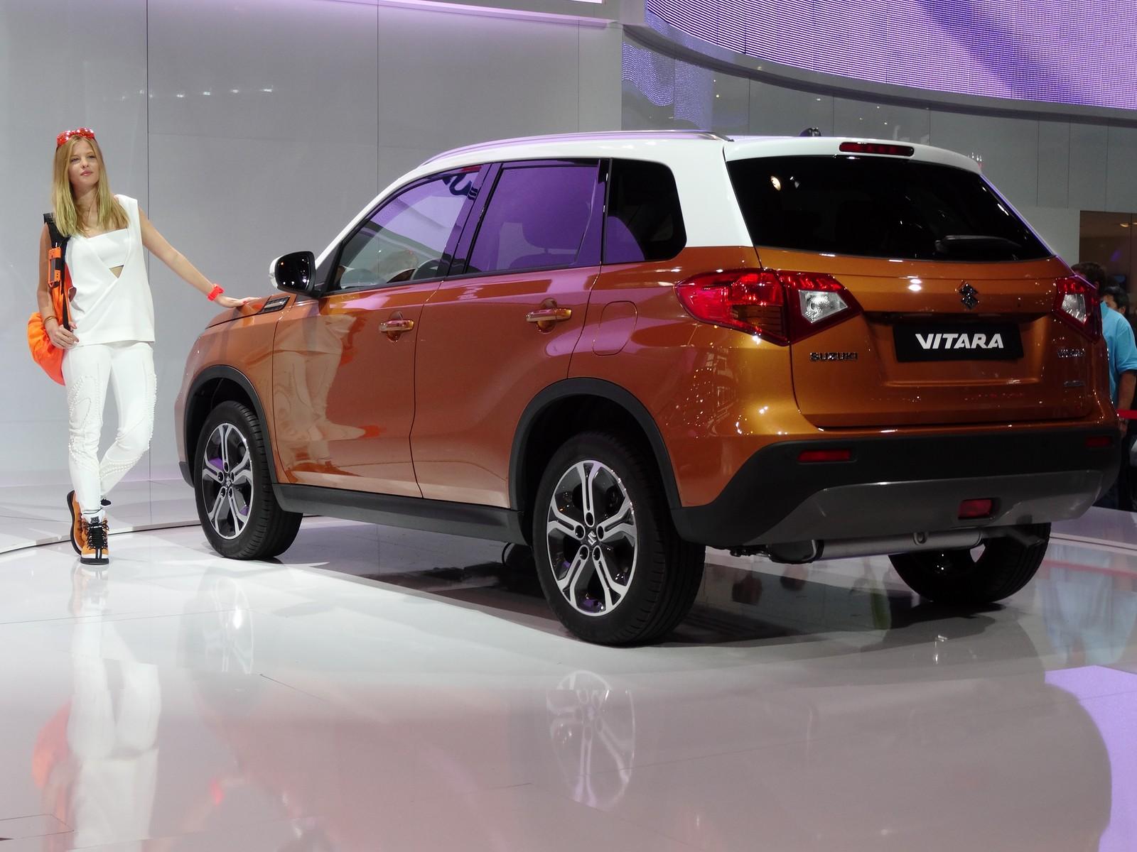Suzuki Vitara 2015 Si L Evoque 233 Tait Captur 233 Vid 233 O En