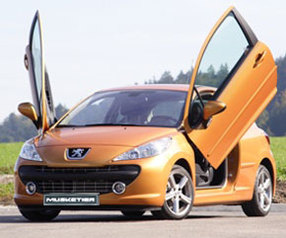 Peugeot 207 CC by Musketier