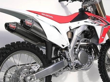 CRD aligne la Honda CRF 450 R / E (2013)