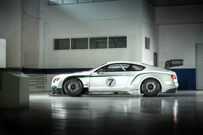Voici la nouvelle Bentley Continental GT3