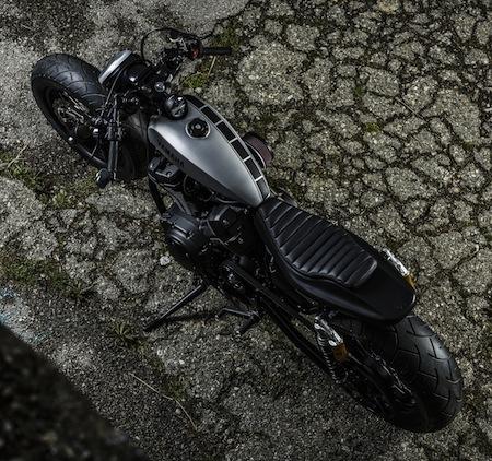 "Yard Built Yamaha XV950 sauce ""Speed Iron"" by Marco Lugato"