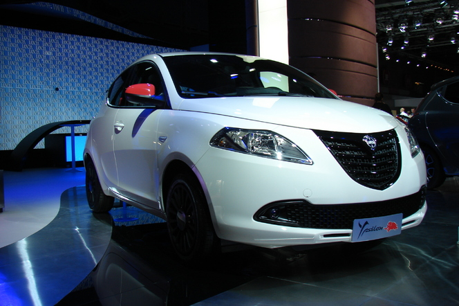 Lancia: le grand vide - En direct du Salon de Paris 2014