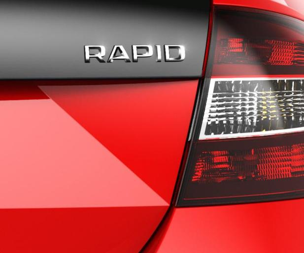 Future Skoda Rapid Spaceback: teasing party