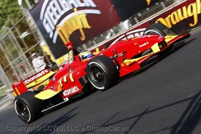 Champcar Toronto: Power vainqueur, Doornbos leader