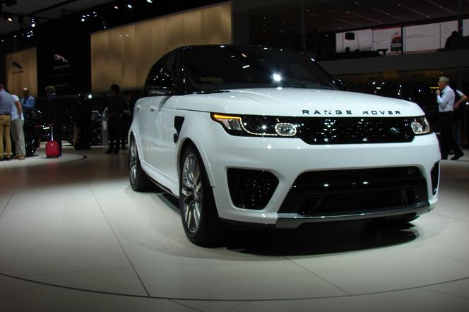 Land Rover Range Rover Sport SVR: surpuissant - En direct du Salon de Paris 2014