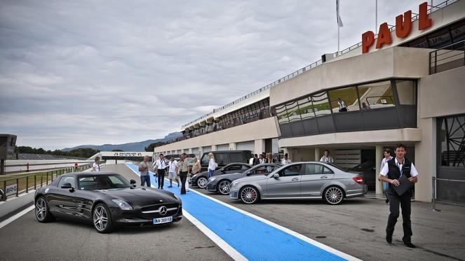 Mercedes AMG Tour : les grands huits sur le Paul Ricard