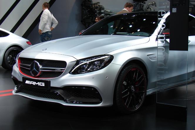 Mercedes C63 AMG: plus de 500 ch - En direct du Salon de Paris 2014