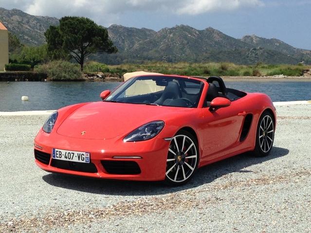 Première vidéo - nouvelle Porsche Boxster : découvrez les premières images de l'essai en Live